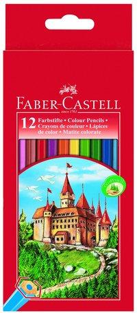 Färgpenna sexkantig 12 färger