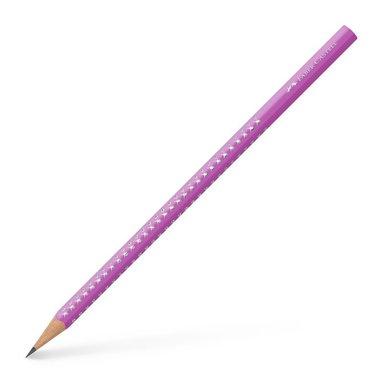 Blyertspenna B Sparkle violett