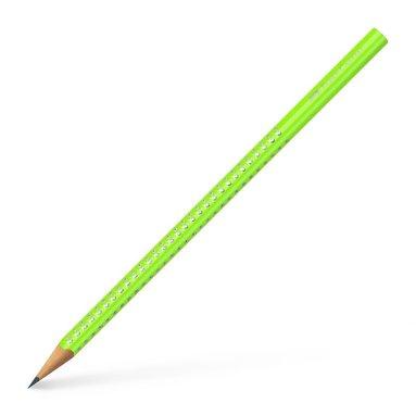 Blyertspenna B Sparkle neongrön