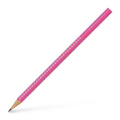 Blyertspenna B Sparkle rosa neon 1