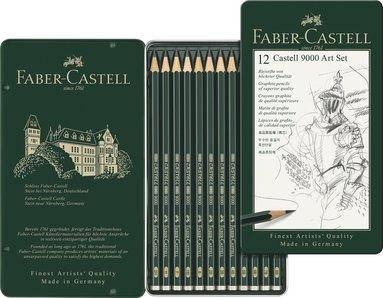 Blyertspenna Castell 9000 12-pack