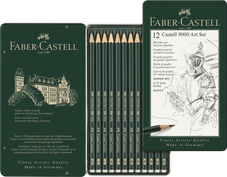 Blyertspenna Castell 9000 12-pack 1