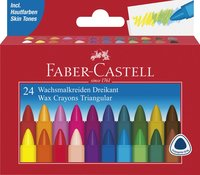 Vaxkrita Faber-Castell 24 färger