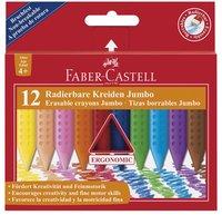 Plastkrita Faber-Castell Jumbo Grip 12 färger