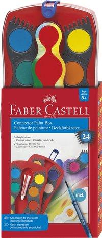 Färglåda Faber-Castell Connector 24 färger