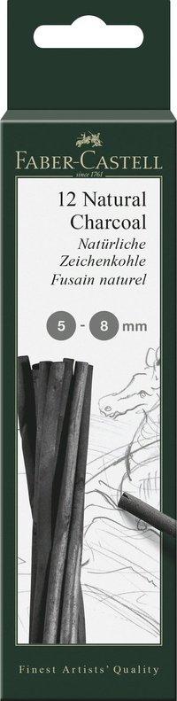 Ritkol Faber-Castell naturellt dia 5-8 mm