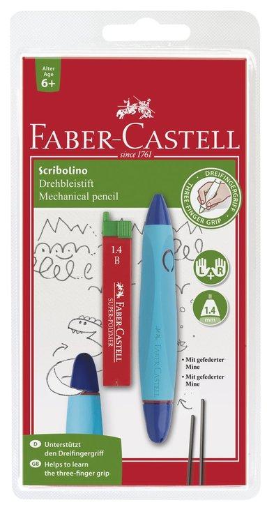 Stiftpenna 1,4 Scribolino blå & lila 1