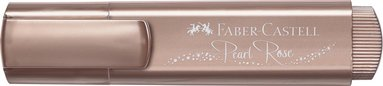 Överstrykningspenna Textliner Metallic rosé 1
