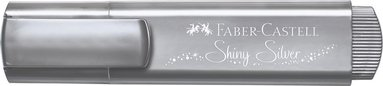 Överstrykningspenna Textliner Metallic silver 1