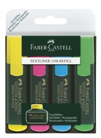 Överstrykningspenna Textliner 48 4-pack