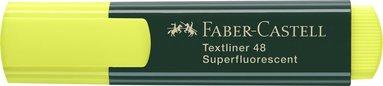Överstrykningspenna Textliner gul 1