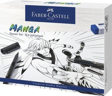 Pennset PITT Artist Pen Manga Starter Set 1