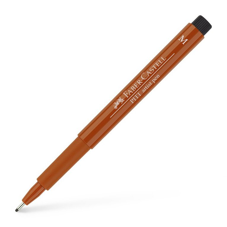 Tuschpenna M PITT Artist Pen blodorange 1