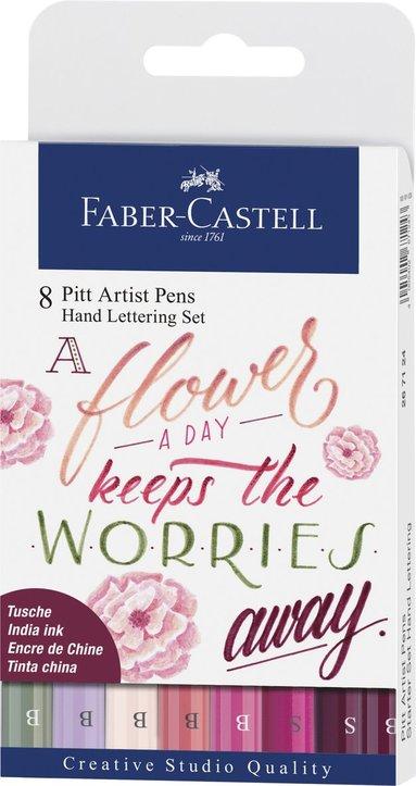 Pennset PITT Artist Pens B 4-pack rosa