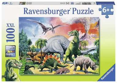 Pussel 100 bitar Dinosaurier 1