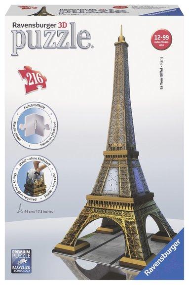 Pussel 3D 216 bitar Eiffeltornet 1