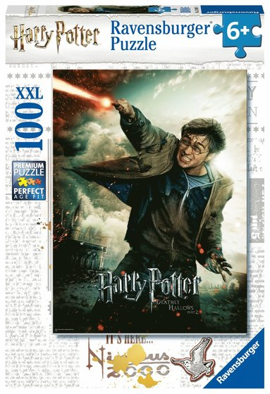 Pussel 100 bitar XXL Harry Potter 1