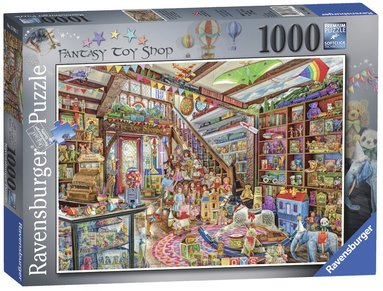 Pussel 1000 bitar The Fantasy Toy Shop 1