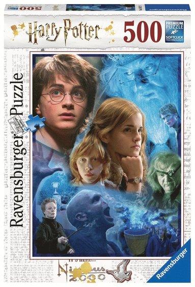 Pussel 500 bitar Harry Potter at Hogwarts