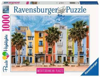 Pussel 1000 bitar Mediterranean Places - Spain  1