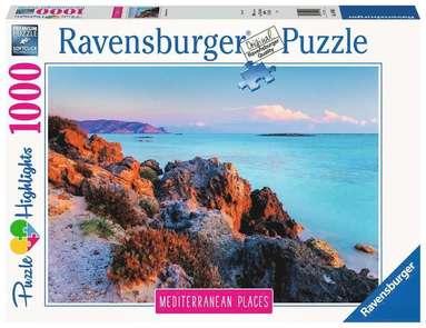 Pussel 1000 bitar Mediterranean Places - Greece  1