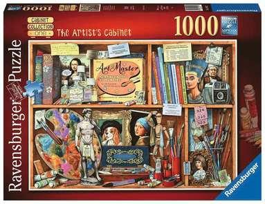 Pussel 1000 bitar The Artist's Cabinet  1