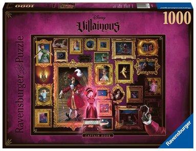 Pussel 1000 bitar Disney Villainous - Kapten Krok 1