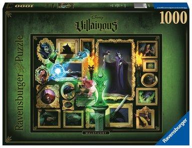 Pussel 1000 bitar Disney Villainous - Malificent 1