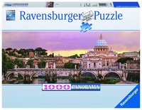 Pussel 1000 bitar Rom Panorama