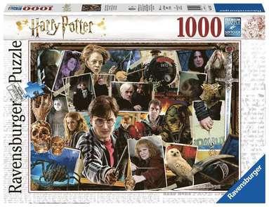 Pussel 1000 bitar Harry Potter vs Voldemort 1