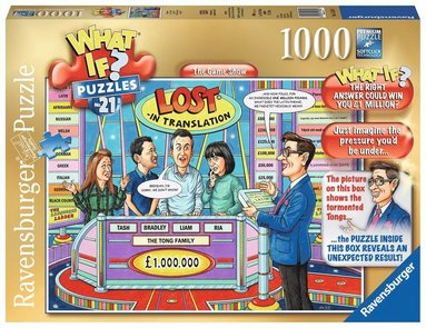 Pussel 1000 bitar WhatIf No21 The Game Show 1