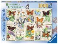 Pussel 1000 bitar Butterfly Splendour
