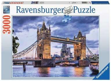 Pussel 3000 bitar London Tower bridge