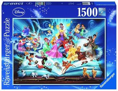 Pussel 1500 bitar Disney's magiska sagobok