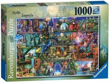 Pussel 1000 bitar Myths & Legends  1