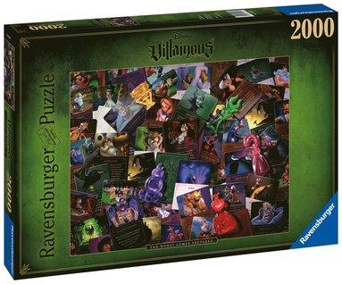 Pussel 2000 bitar Villainous: All Villains  1