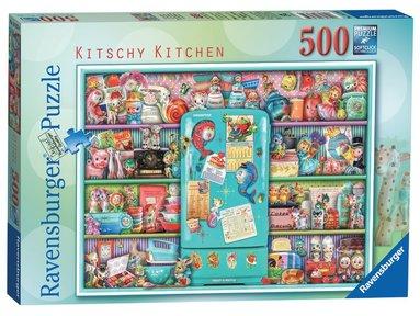 Pussel 500 bitar Kitschy Kitchen  1