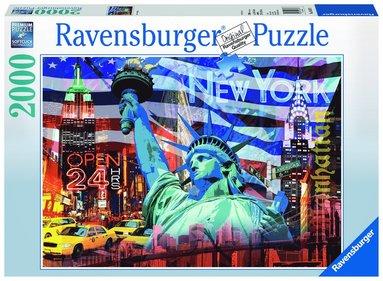 Pussel 2000 bitar New York collage 1