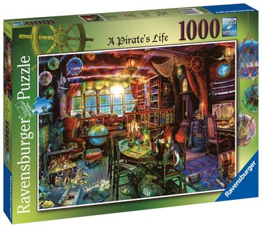 Pussel 1000 bitar A Pirate's Life!  1