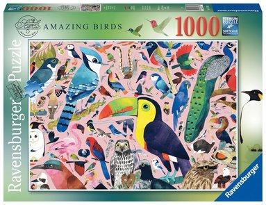 Pussel 1000 bitar Amazing Birds  1