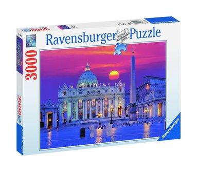 Pussel 3000 bitar Peterskyrkan i Rom 1