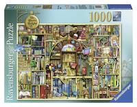 Pussel 1000 bitar Colin Thompson bokhandel 2