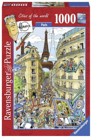 Pussel 1000 bitar Paris Cities Of The World