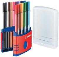 Fiberspetspenna Stabilo Pen 68 Colorparade 20-pack