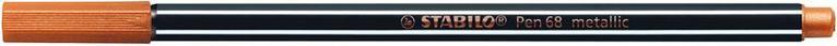 Fiberspetspenna Stabilo Pen 68 metallic koppar 1