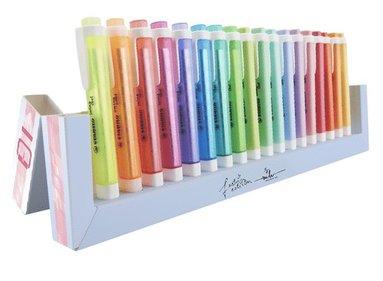 Överstrykningspenna Stabilo Swing Cool desk 18 färger 1