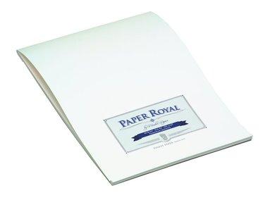Brevblock A4 Paper Royal 40 blad marinblå/vit