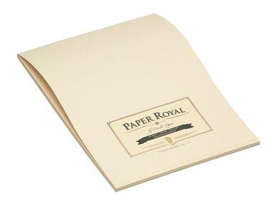 Brevblock A4 Paper Royal 40 blad grön/beige