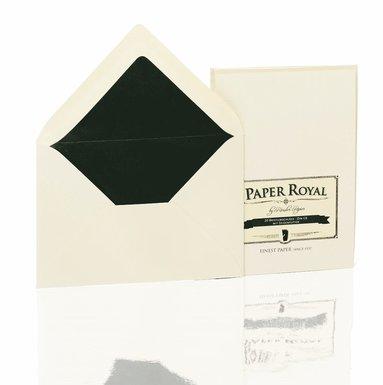 Kuvert C6 Paper Royal 20 st grön/beige