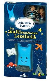 Läslampa Buddy blå